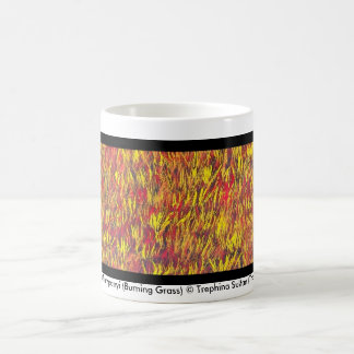 Tjanpi Kampanyi (Burning Grass) 1 Coffee Mug