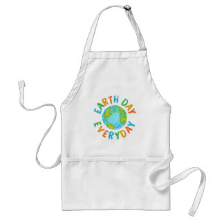 TJED Earth Day Everyday Fun Standard Apron