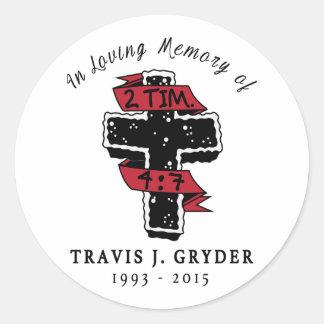TJG Cross Sticker