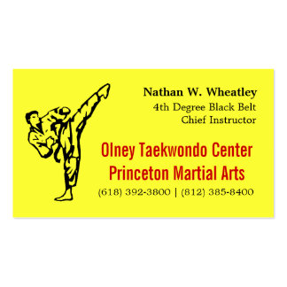 TKD card Pack Of Standard Business Cards