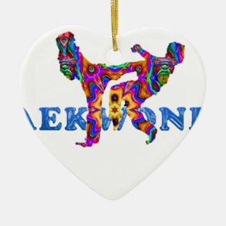 tkd ceramic heart decoration