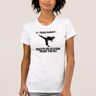 TKD GIRL WITH ATTITUDE T-Shirt