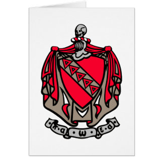 TKE Coat of Arms Card
