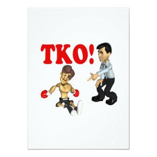 TKO 3 13 CM X 18 CM INVITATION CARD