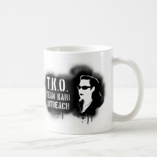 TKO - Black Stencil Coffee Mug