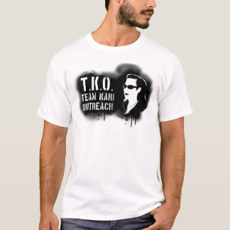 TKO - Black Stencil T-Shirt