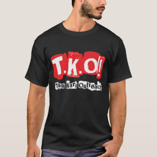 TKO:  Old Punk Style Black T-Shirt