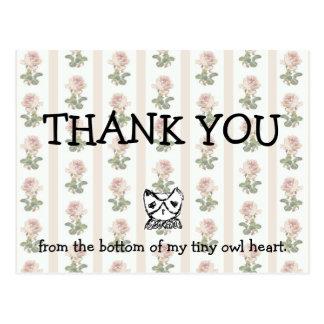 TKYB thank you Postcard