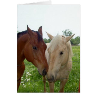 TLA True Love Always - BFF Best Friends Forever - Card