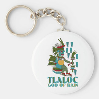 Tlaloc Keychain