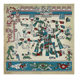 Tlaloc Poster