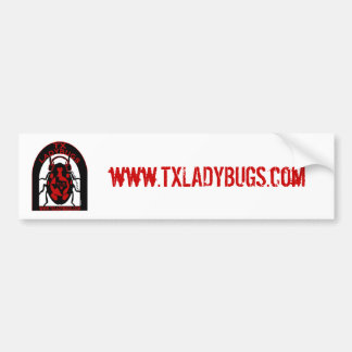 TLB URL Bumper Sticker Car Bumper Sticker
