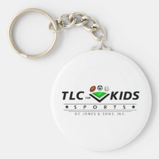 TLC For Kids Basic Round Button Key Ring