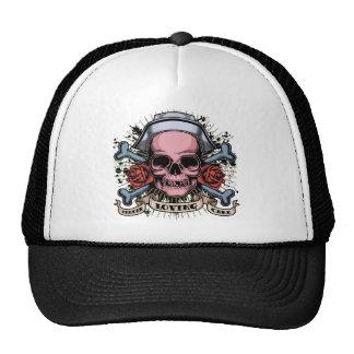 TLC Nurse Skull Hat