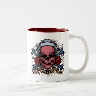 TLC Nurse Skull Coffee Mugs