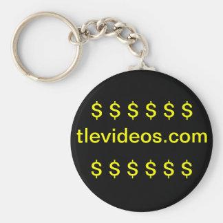 TLE Videos Keychain