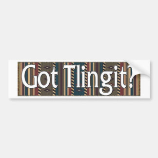 Tlingit Bumper Sticker