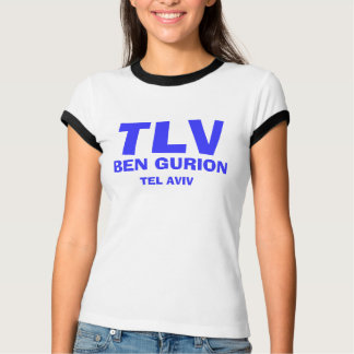 TLV Ben Gurion International Airport Shirt