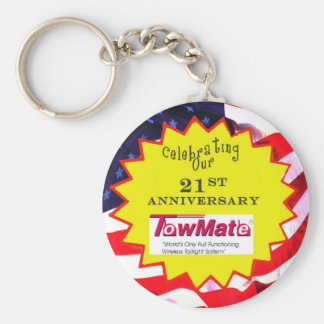 TM 21st Anniversary Promotional Materials Basic Round Button Key Ring