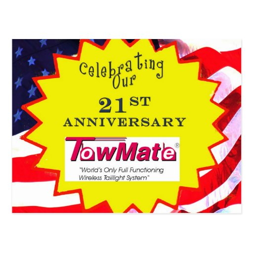 TM 21st Anniversary Promotional Materials Post Card
