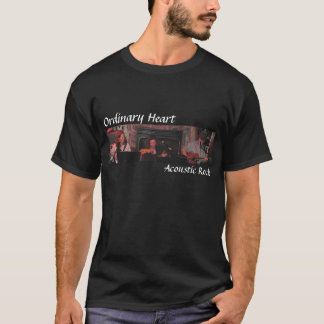TMJ_5th_2, Ordinary Heart, Acoustic Rock T-Shirt
