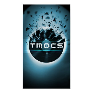 TMOCS DJ Logo Poster