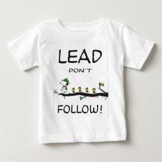 tmp_7845-0024238_lead-don't-follow-open-edition-li baby T-Shirt