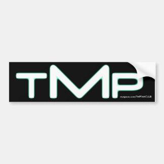 TMP bumper sticker (black)