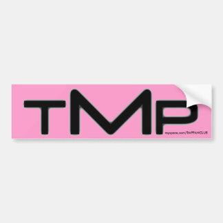 TMP bumper sticker (pink)