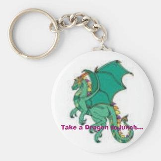 tn_dragon001PR_c, Take a Dragon to lunch... Key Ring