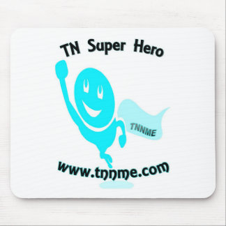TN Super Hero mouse pad. Mouse Pad