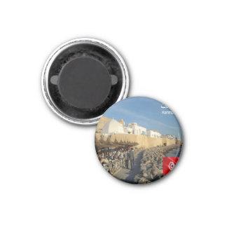 TN - Tunisia - Hammamet El-Ḥammāmāt Magnet