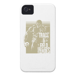 tnf heroes shot put iPhone 4 Case-Mate cases