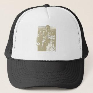 tnf heroes shot put trucker hat