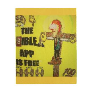 TNIT Wood Canvas (Bible App)