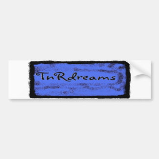 TnRDreams logo bumper sticker
