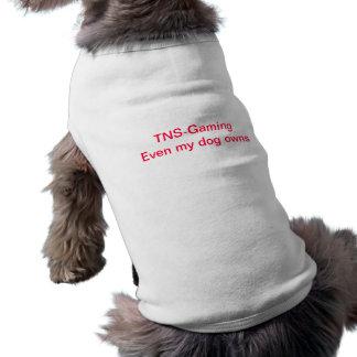 TNS Dog Pwnage Vest Shirt