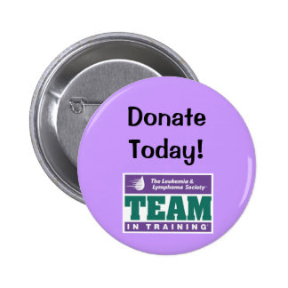 TNT Donate Today! 6 Cm Round Badge