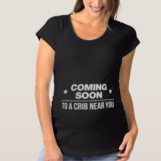 To a Crib Near You Maternity T-Shirt