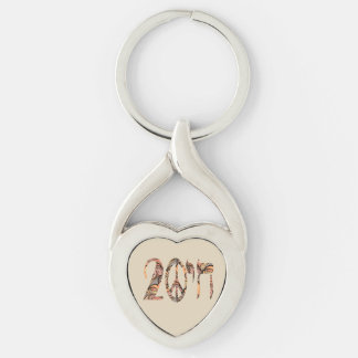 To a Peaceful Life Key Ring