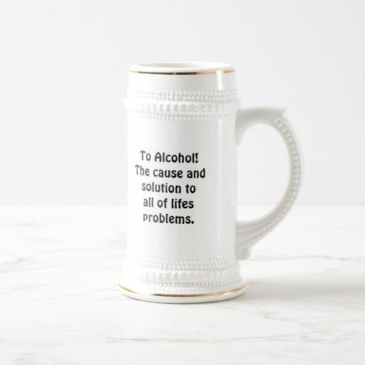 To Alcohol! Mugs