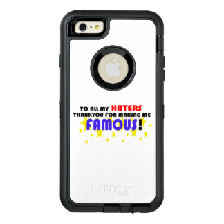 To All My Haters! OtterBox iPhone 6/6s Plus Case