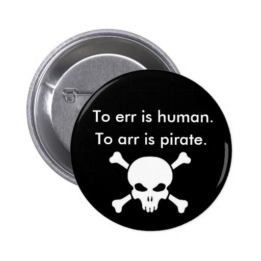To arr is pirate button