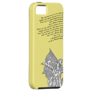 To be a Pirate King iPhone 5 Covers