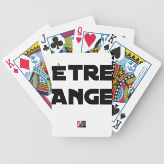 TO BE ANGEL - Word games - François City Bicycle Playing Cards