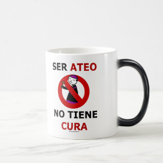 To be atheistic does not have cures magic mug