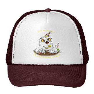 To be old and wise Owl Cap