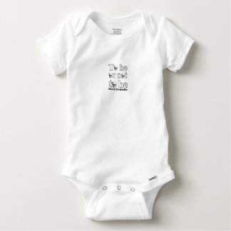 To be or not to be baby onesie