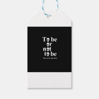 To be or not to be gift tags