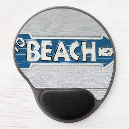 To Beach Gel Mouse Pad